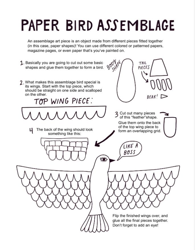 bird assemblage