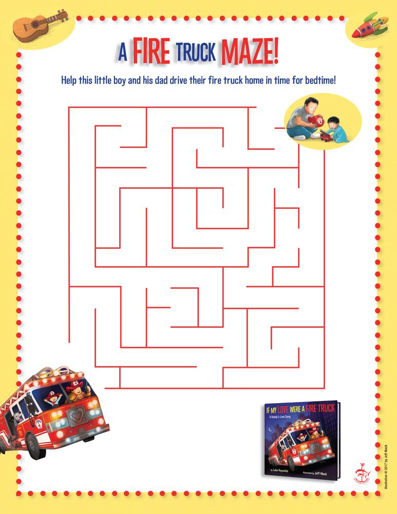 firetruck-maze