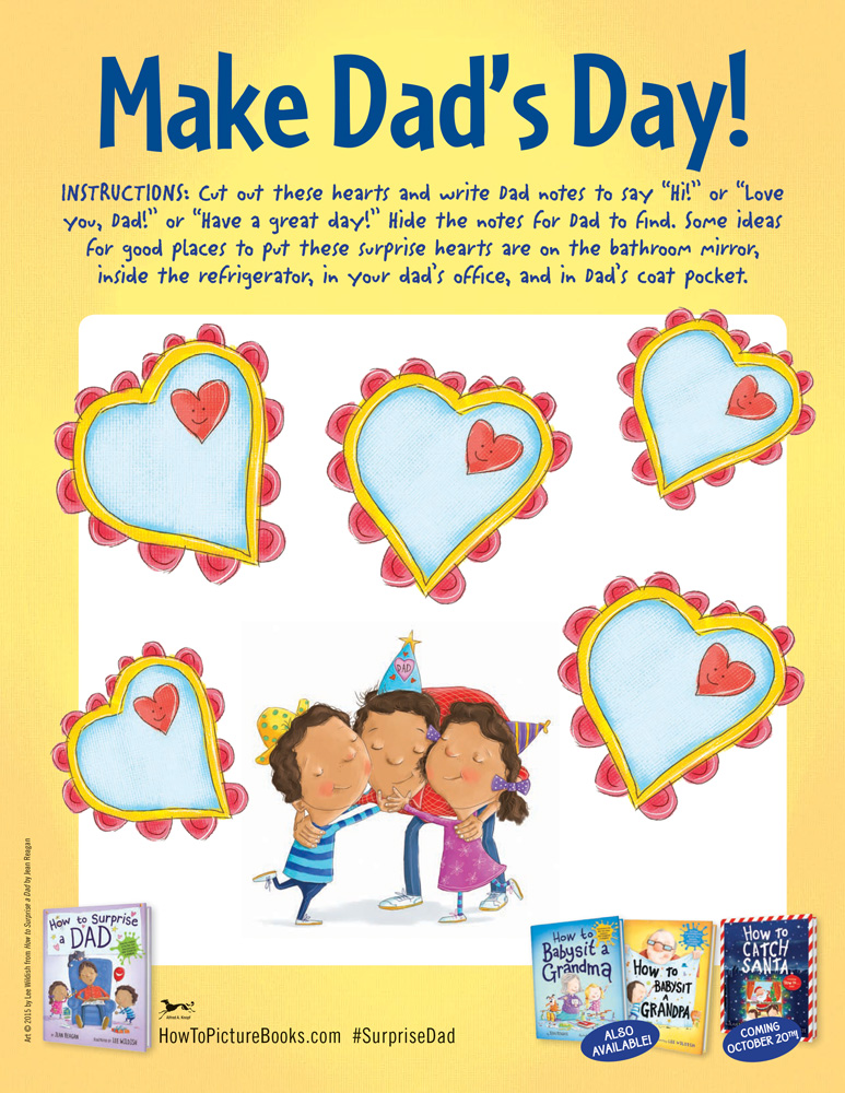 Make Dad's Day! Cut Out Hearts