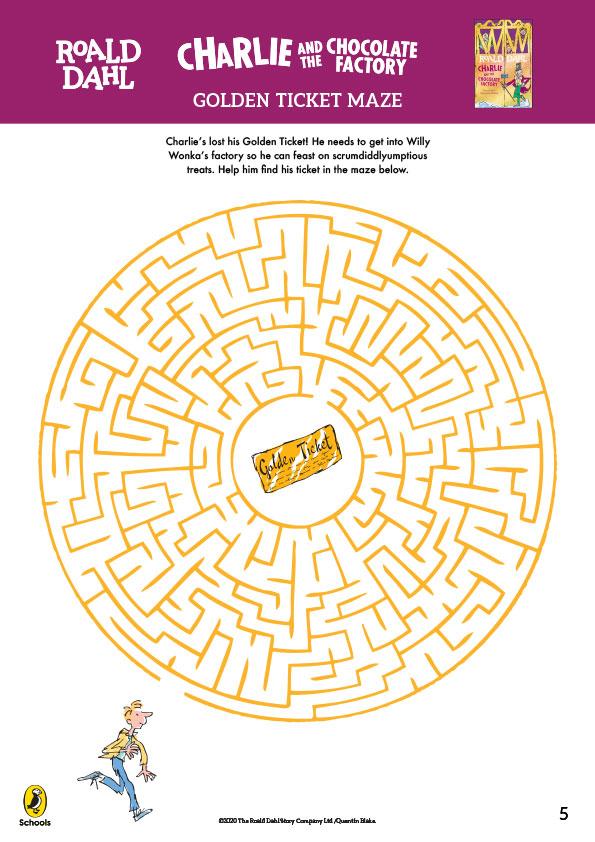 Golden Ticket Maze
