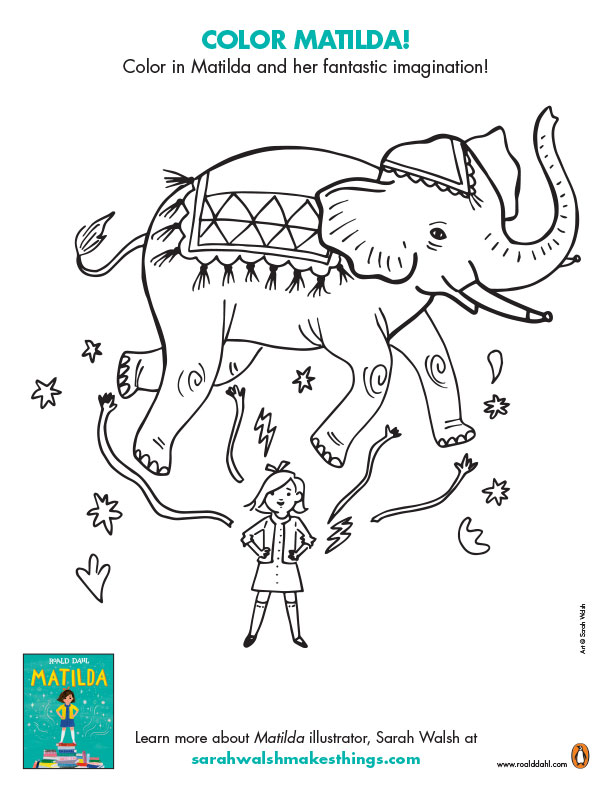 Roald Dahl Printables And Activities Brightly