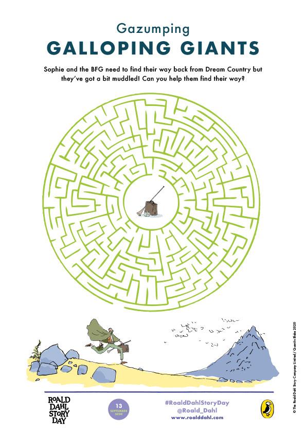 BFG-maze