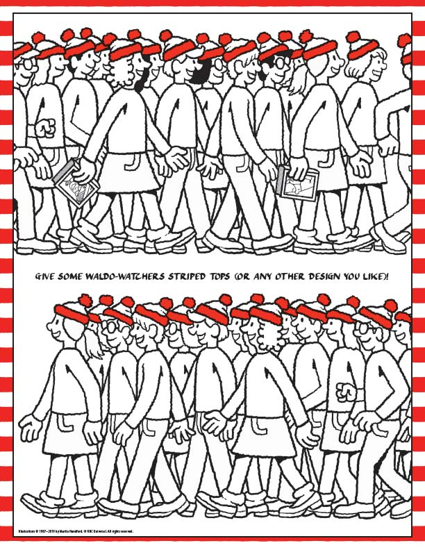 Design Clothes for Waldo Watchers