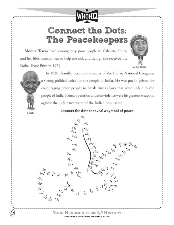 Connect the Dots: The Peacekeepers