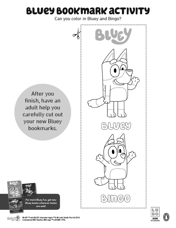 Bluey-Bookmark-Activities