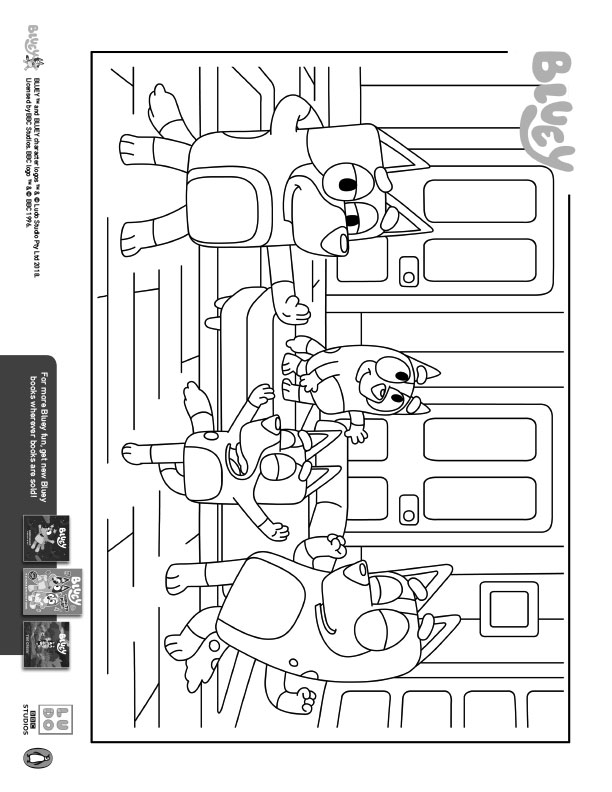 Bluey-Scene-Coloring-Sheets
