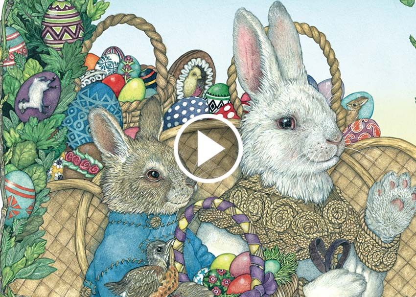 Brightly Storytime: The Easter Egg by Jan Brett | Read-Aloud Videos