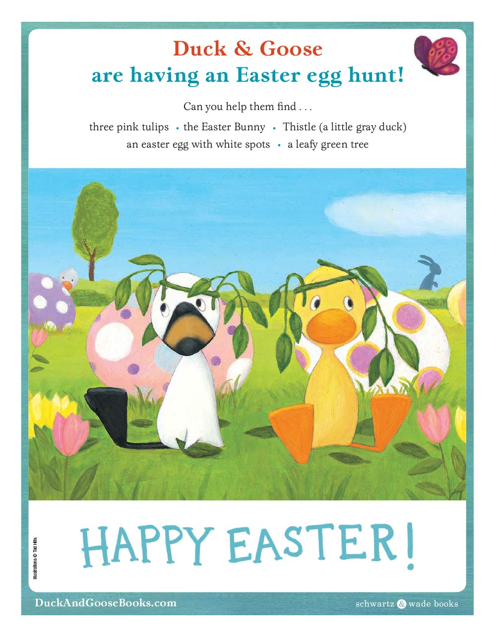 Hunt for Eggs with Duck and Goose!